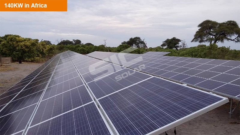 Ground pv mounting systems