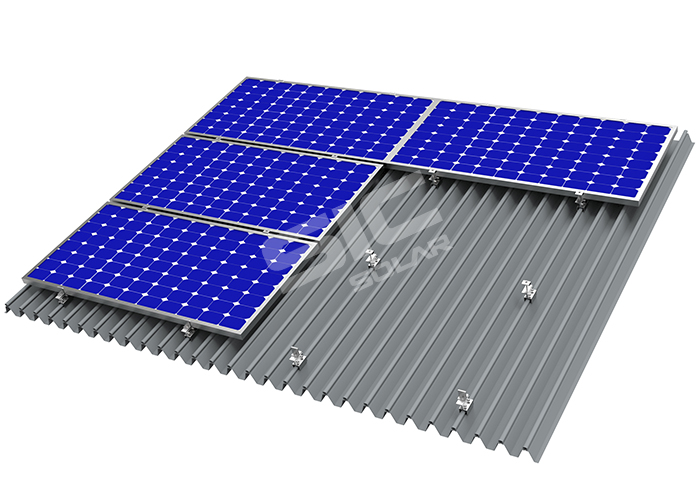solar panel roof mounts for metal roof