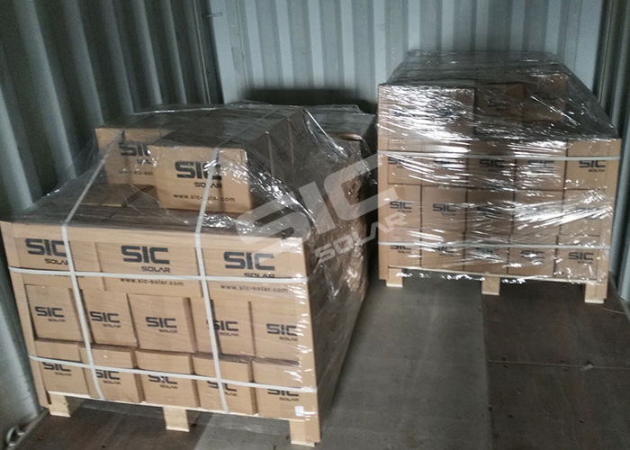 Package for solar sliding nuts