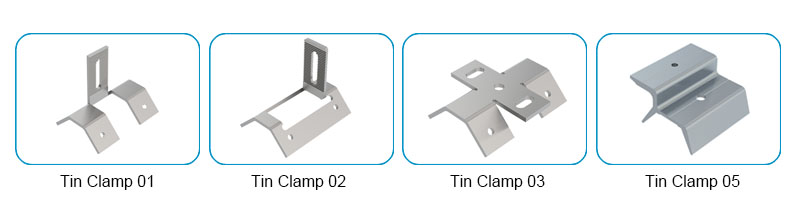 metal clamps for Trapezoidal roof sheet
