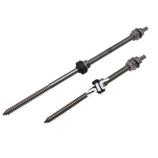 Stainless steel hanger bolt