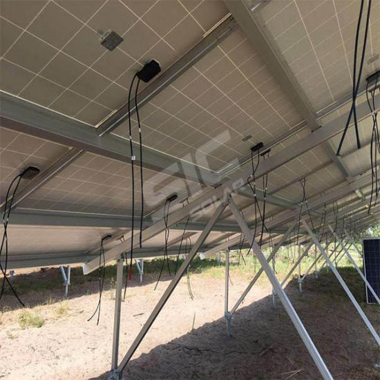 Ground mounted solar panels kit